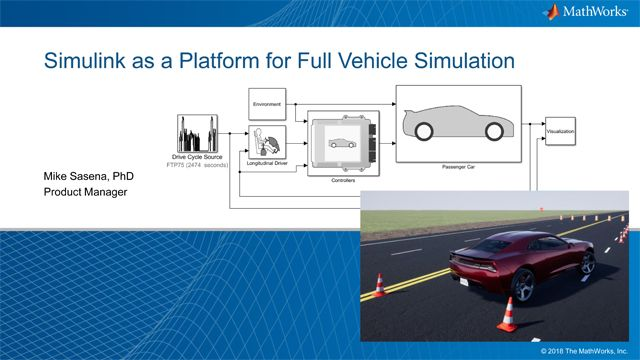 Simulink as a Platform for Full Vehicle Simulation