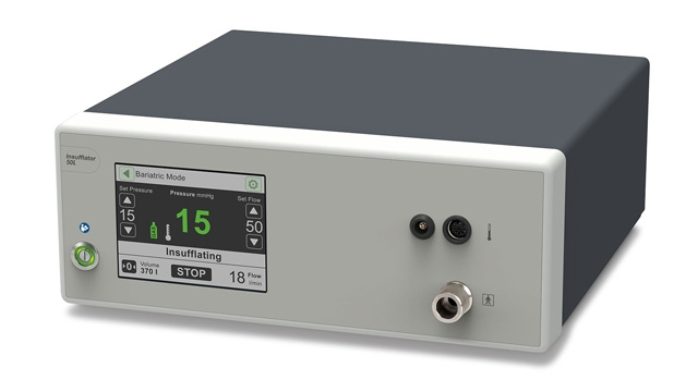 A 50L insufflator from WOM.
