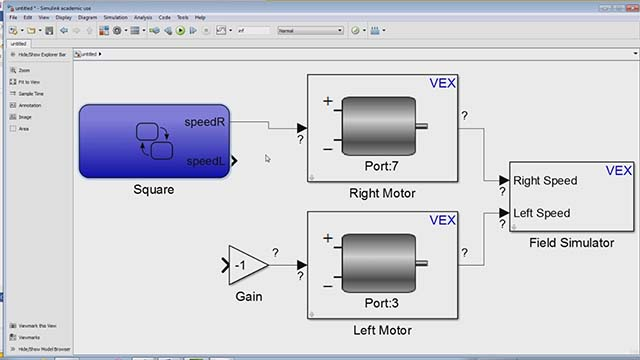 Getting Started With Vex Robotics Using Matlab And Simulink Part 2