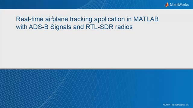 Use the software-defined radio capabilities that are part of Communications System Toolbox to capture and decode ADS-B messages.