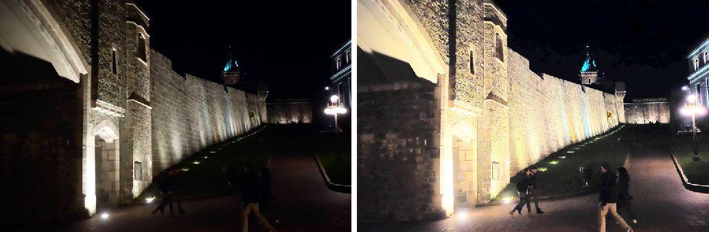 Enhancing low-light images through haze removal.