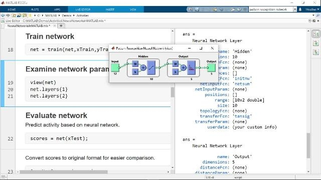 Walk through an example that shows what neural networks are and how to work with them in MATLAB. The video outlines how to train a neural network to classify human activities based on sensor data from smartphones.