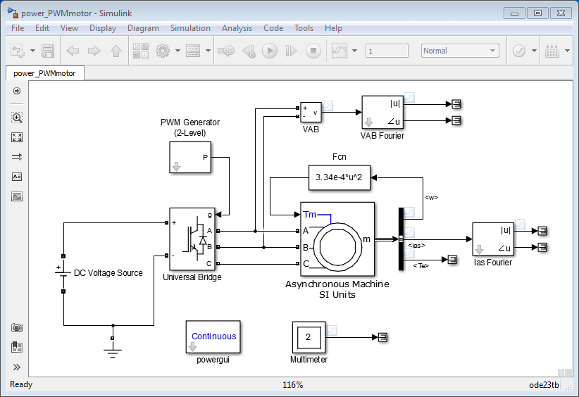 Simulate Variable Speed Motor Control Matlab Amp Simulink