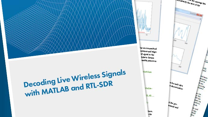 Decoding Wireless Signals with MATLAB and RTL-SDR
