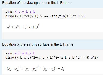 Is there a way to force the format of symbolic equations to list the ...