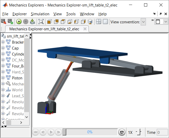 Adding Actuators to CAD Model of a Lift Table