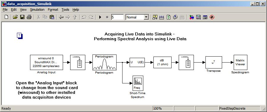 Simulink examples in matlab