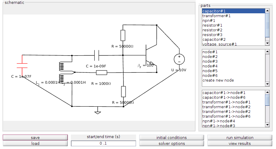 electronic circuit simulation tool - file exchange