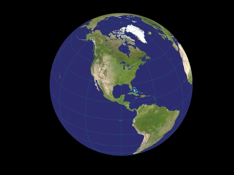 SATGLOBE4 - Visualizing Earth from Space: 3-D Rendering of ...