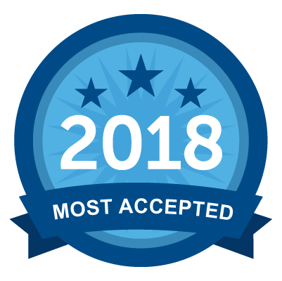 Most Accepted 2018
