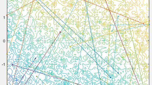 Particle swarm options