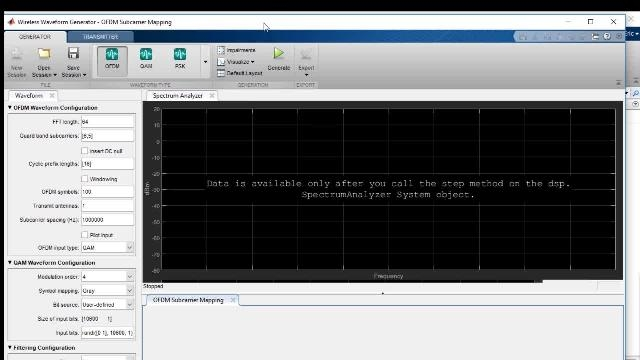 Test wireless signals with MATLAB and test equipment. To evaluate the quality of the signal, we will look at constellation plots and calculate the error vector magnitude (or EVM) of the signal.