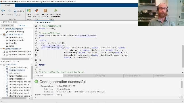 Learn how you can use MATLAB Coder to generate object-oriented C++ code from MATLAB code. Features include C++ class and namespace generation, exception safety, and dynamic C++ arrays.