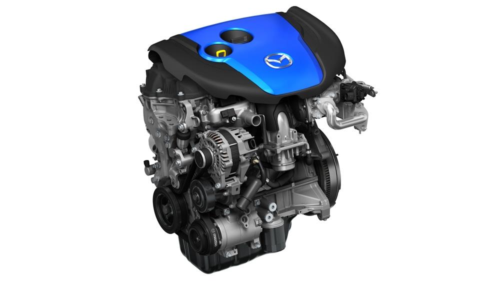 Mazda's SKYACTIVE-D engine.