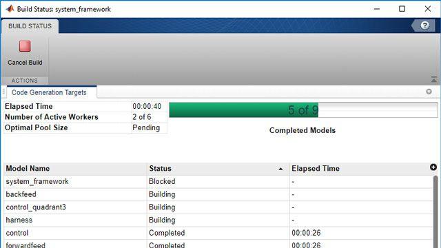 Building status user interface.