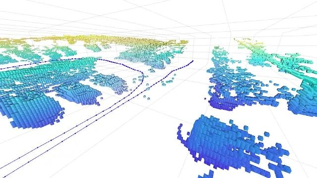 Perform 3D Simultaneous Localization and Mapping (SLAM) with Lidar point clouds using the Navigation Toolbox