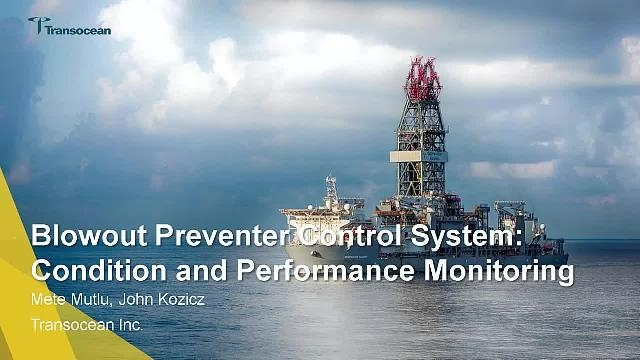 Transocean monitors the performance of a subsea blowout preventer (BOP) in Simscape using adaptive physics-based models, signal processing, and edge analytics.
