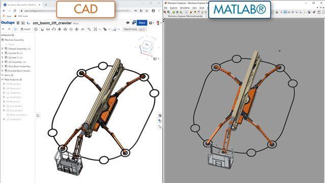 Boom Lift, CAD Import