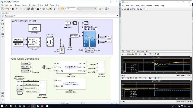 This webinar shows how Simscape Electrical is used to evaluate the performance of a power system with a high penetration of renewable energy.