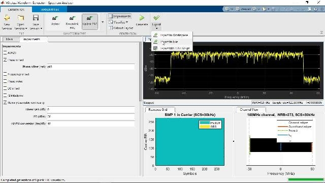 Model, simulate, design and test 5G wireless communications systems with MATLAB