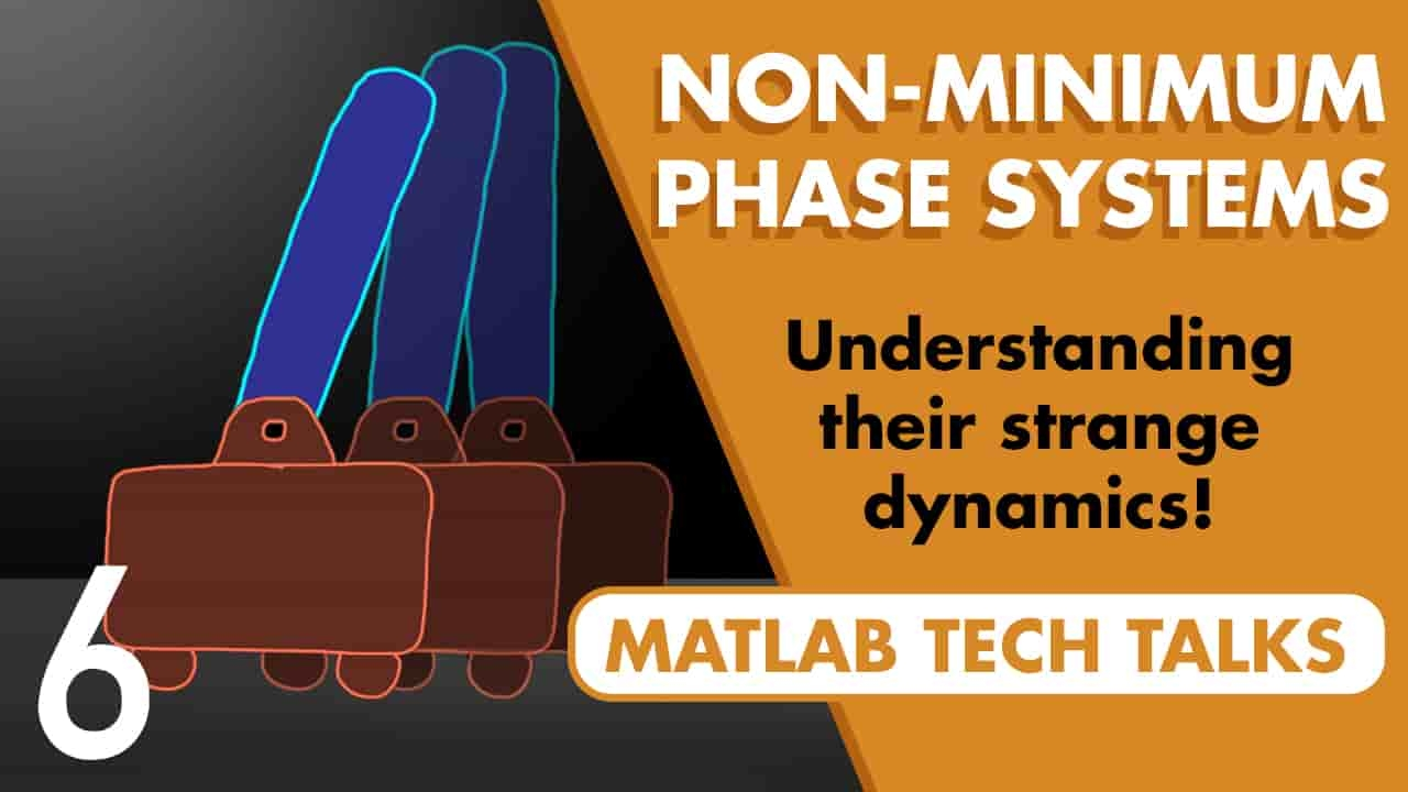 This video describes what minimum phase means for transfer functions, what causes a non-minimum phase system, and how this distinction impacts the system behavior.