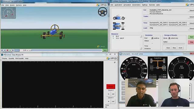 Model and validate your race car in a virtual environment. Prasanna Kannan, of IPG, and Christoph Hahn, of MathWorks, introduce you to the benefits of Simulink and the IPG CarMaker.