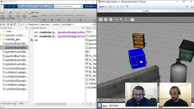 Join Sebastian Castro and Connell D'Souza as they discuss techniques in Simulink to design and deploy multirate and multiplatform robotics algorithms with the Robot Operating System (ROS).