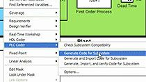 Generate IEC 61131 structured text for PLCs and PACs using Simulink PLC Coder.