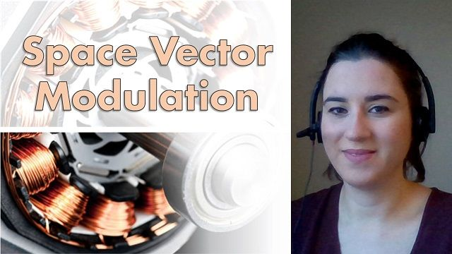 Space vector modulation (SVM), also known as space vector pulse width modulation (SVPWM), is a common technique in field-oriented control for permanent magnet synchronous motors (PMSM).