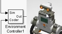 Simulate and design a control algorithm for a self-balancing robot. Deploy this algorithm on hardware using Simulink