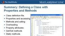 R2008a includes major enhancements to the object-oriented programming capabilities in MATLAB , enabling easier development and maintenance of large applications and data structures. Using engineering examples